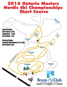Masters short Course Map