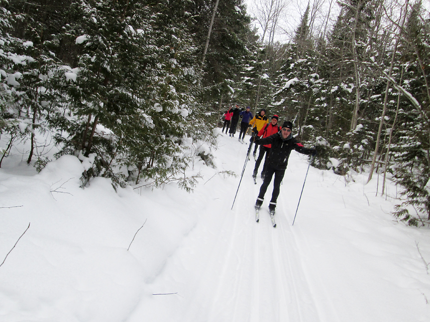 A Rollercoaster, but Still a Great Cross-Country Ski Season