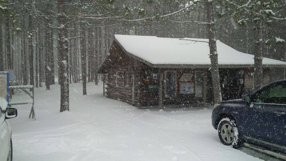 Ski Hut at the Bruce Ski Club's Sawmill Nordic Centre, Hepworth, Ontario