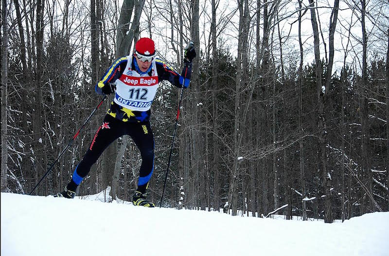 Bruce Ski Club, Ontario Masters 2016, cross-country ski race, skier