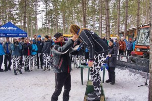 Bruce Ski Club, 2016 West Hill Invitational, cross-country ski race, award ceremony