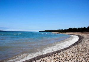 Big Bay, Ontario, lake, beach, Grey County