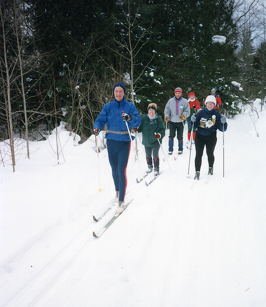 Bruce Ski Club - Colpoy's Ski Trail - Group of Skiers