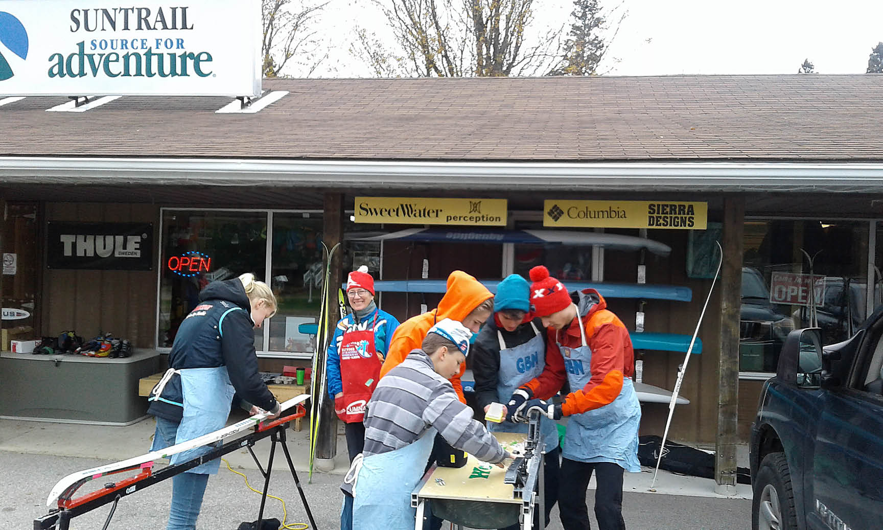 Suntrail Outfitters, Hepworth, Ontario - Love Your Skis Event