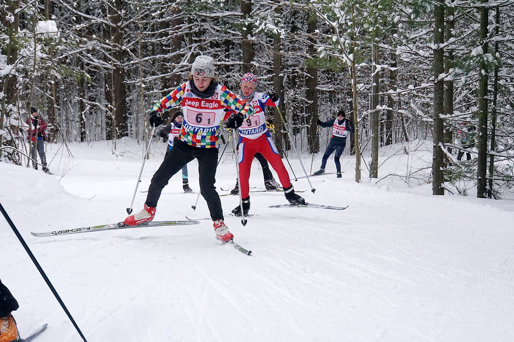 Great Wolf Invitational ski race 2018 - Sawmill Nordic Centre