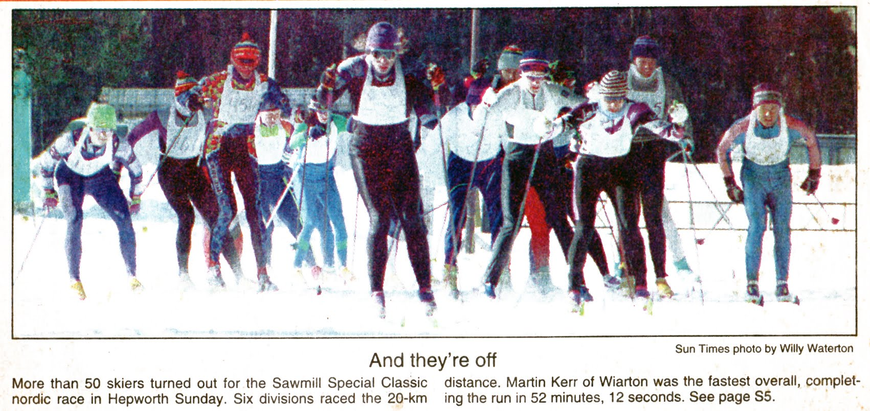 Sawmill Classic 1994 - Owen Sound Sun Times