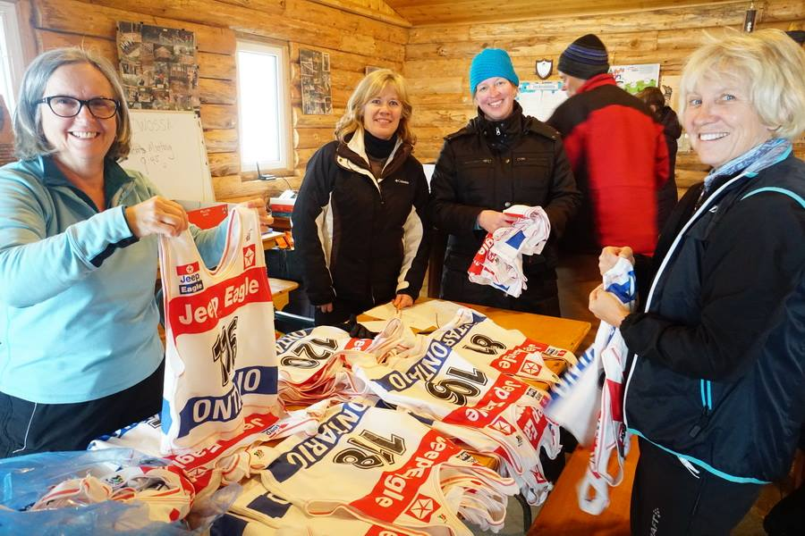 Bruce Ski Club - Cross-country Ski Race Volunteers
