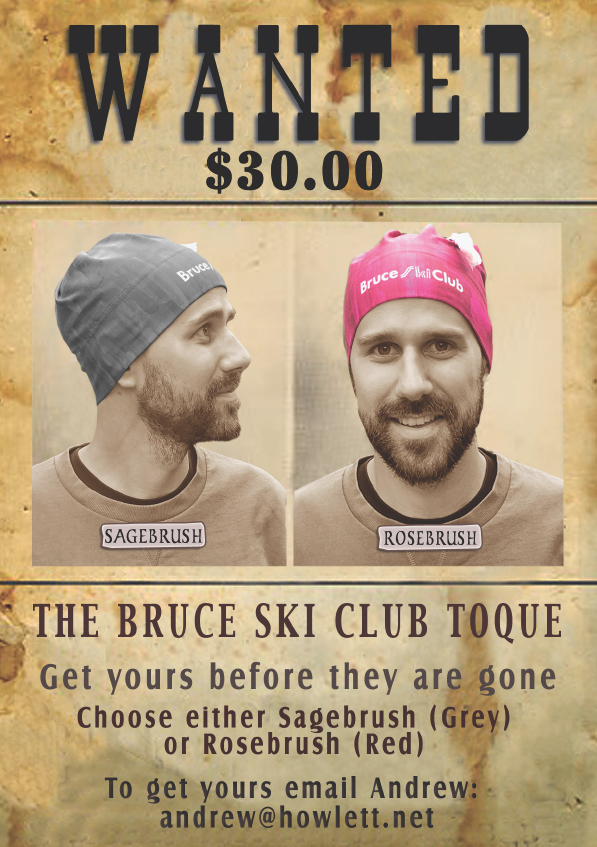 Bruce Ski Club - toque wanted poster