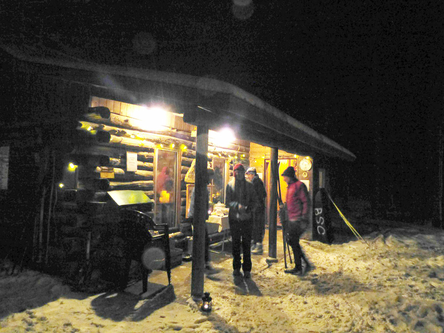 Sawmill Ski Hut Now Open Friday Evenings