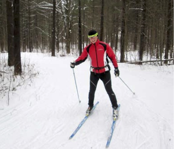 Sawmill Nordic Centre, Hepworth, ON - skate skier