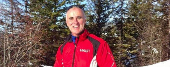 Mike Campbell, Bruce Ski Club president