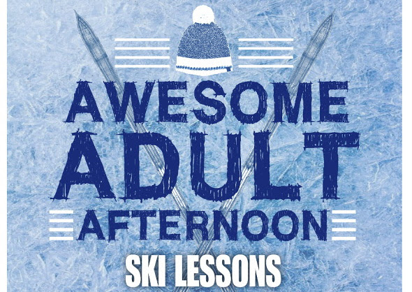 Awesome Adult Afternoon Ski Lessons