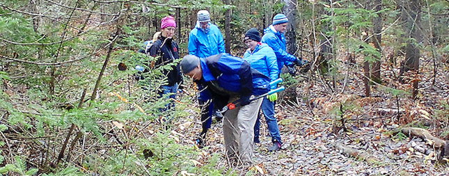 Colpoys Ski Trail Cleanup