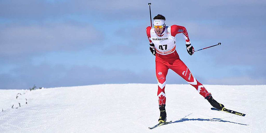 Julien Smith cross-country ski race