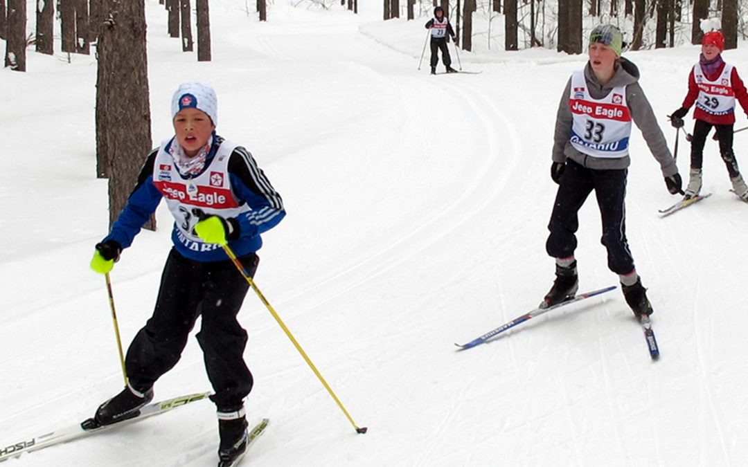 Suntrail Special Cross-Country Ski Race 2016 - Children Skiing