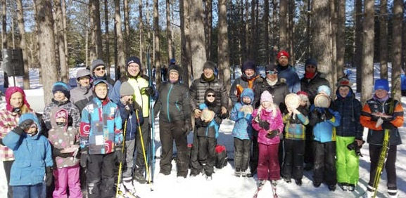 Bruce Ski Club, Bruce County, Ontario, Jackrabbits - group picture