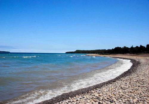Big Bay, Ontario, lake, beach, Grey County