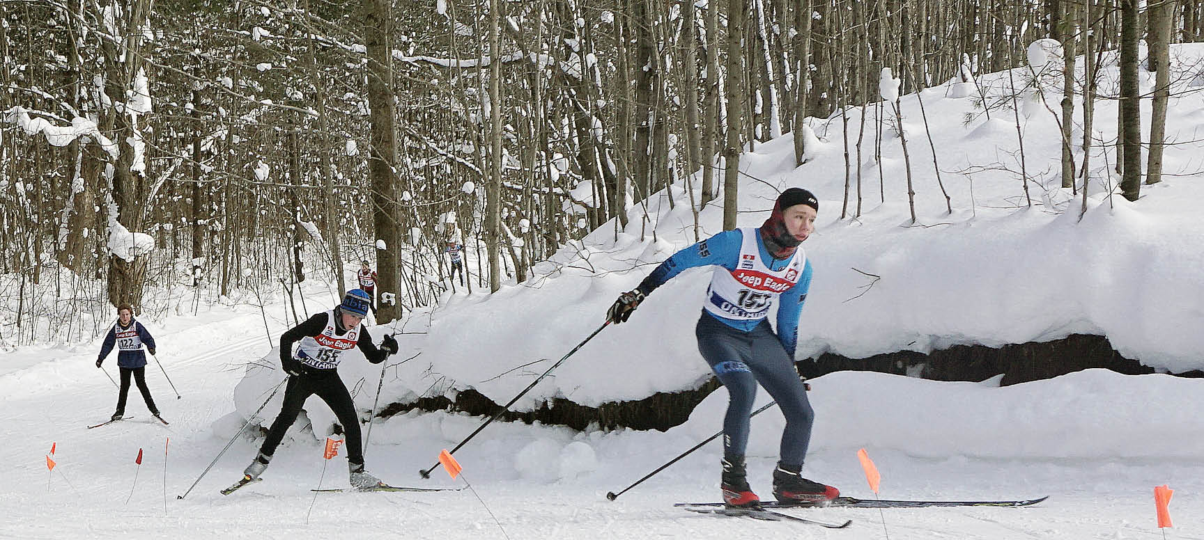 Sawmill Nordic Centre, Hepworth, Ontario - cross-country ski race