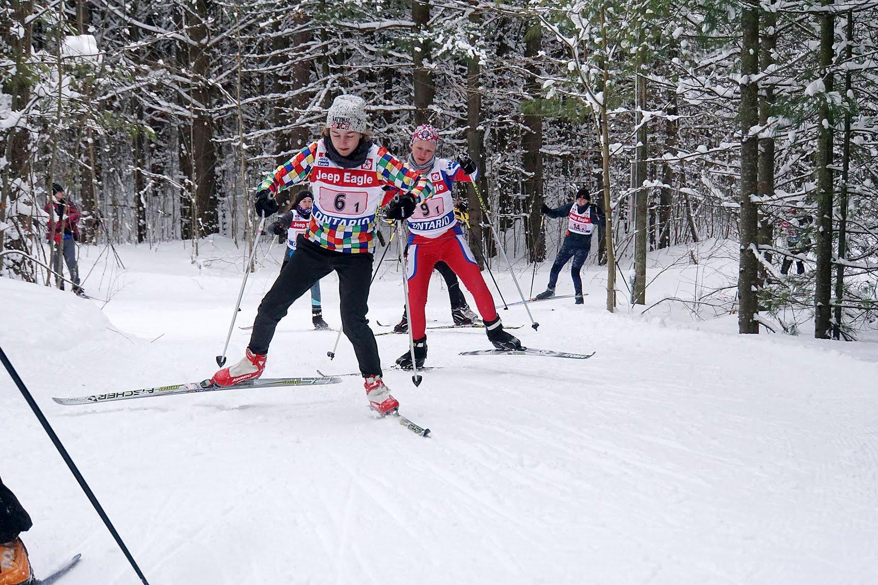 Great Wolf Invitational ski race 2018 - Sawmill Nordic Centre