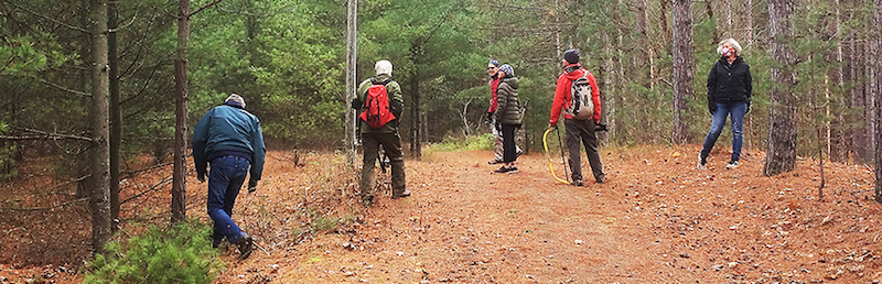 Sawmill Nordic Centre trail cleanup